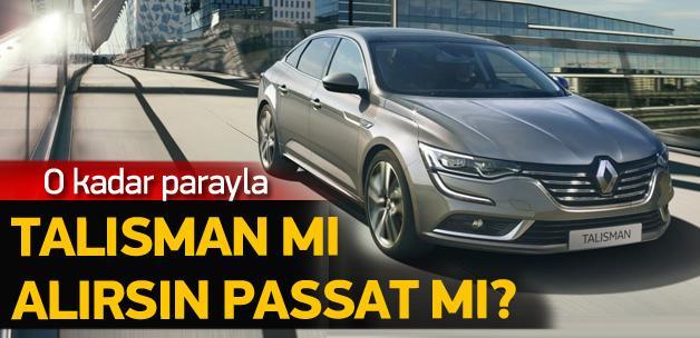 Renault Talisman mı, Passat mı?