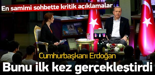 Erdoğan'dan kritik açıklamalar