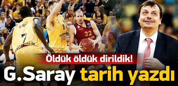 Ve Galatasaray finalde! Tarihi başarı