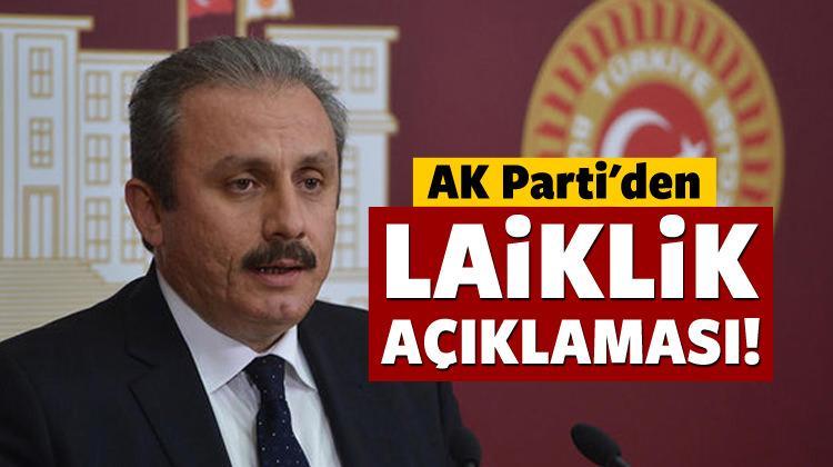 """AK Parti'den """"laiklik"""" açıklaması!"""
