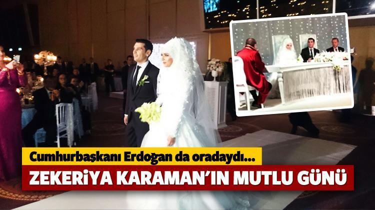 Zekeriya Karaman'ın mutlu günü