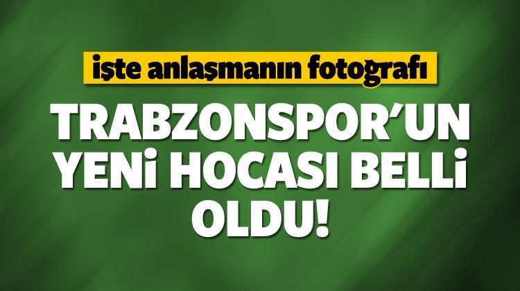 Trabzonspor'un yeni hocası belli oldu!
