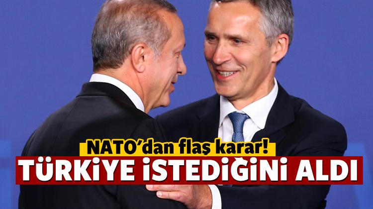 NATO'dan beklenen Türkiye açıklaması geldi