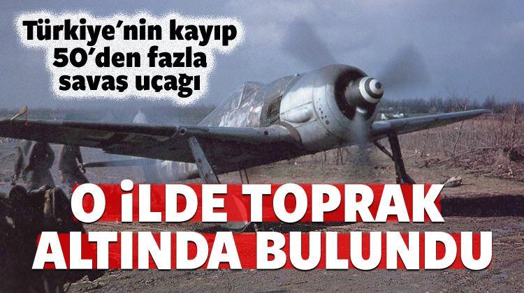 Kayseri'den gömülü savaş uçakları çıkıyor!