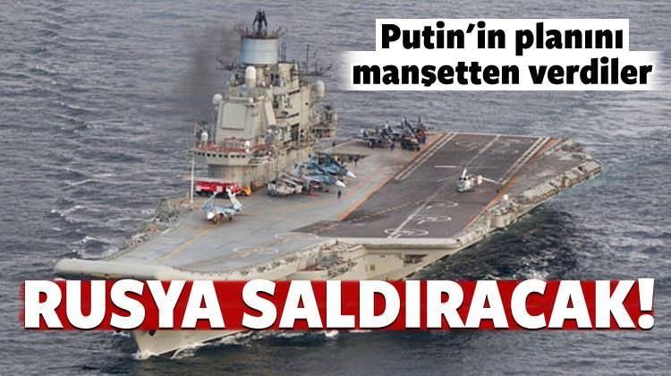 Putin'in planını manşetten verdiler!