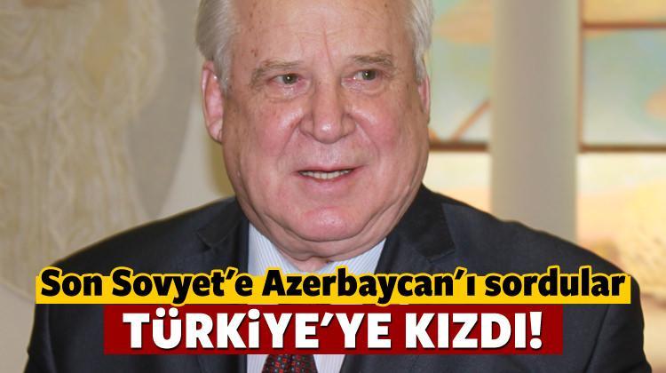 Sovyetler'in son başbakanından Türkiye çıkışı