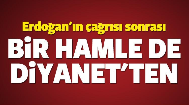 Erdoğan'ın çağrısı sonrası Diyanet'ten TL hamlesi