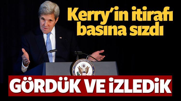 Kerry'nin ses kayıtları basına sızdı