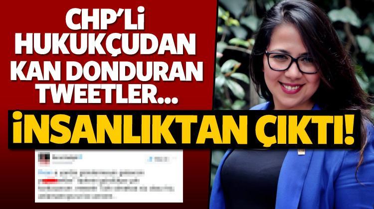 CHP'li hukukçudan kan donduran tweetler