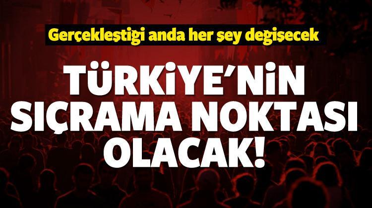 Sistem Türk tarihinde bir sıçrama noktasıdır!