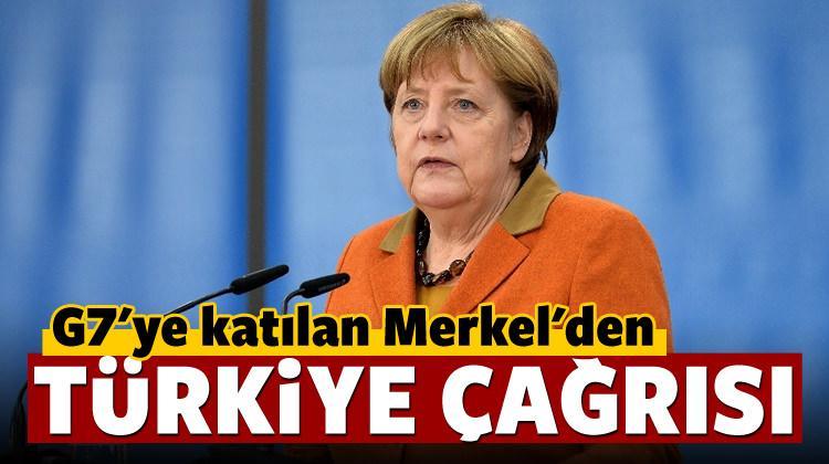 Merkel: Türkiye de o masada olmalı