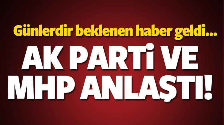 AK Parti ve MHP içtüzükte anlaştı!