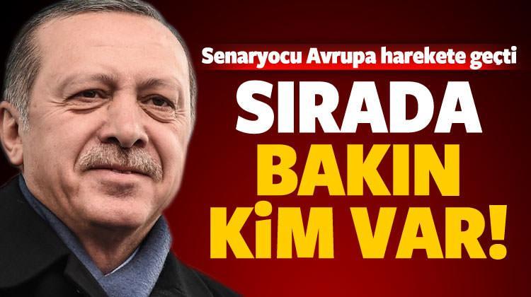 Senaryocu Avrupa'dan Erdoğan'a bir rakip daha