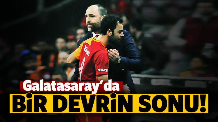Galatasaray'da bir devrin sonu!