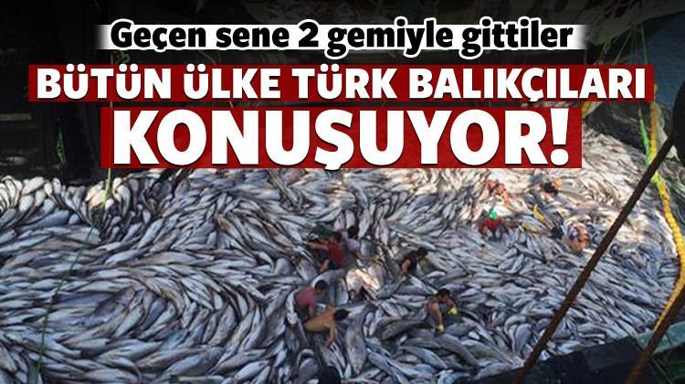 Bütün ülke Türk balıkçıları konuşuyor...