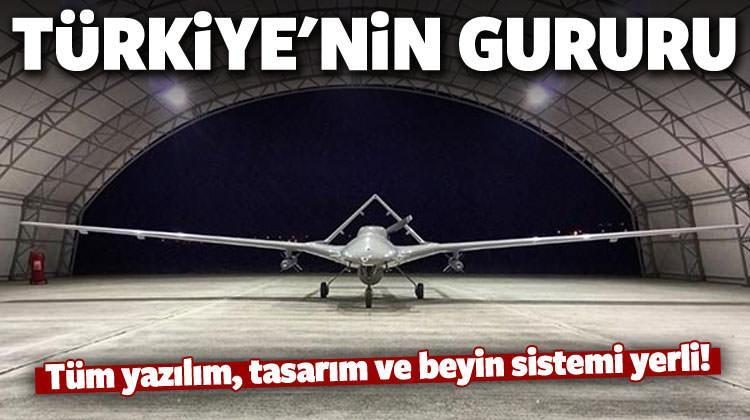 'Bayraktar TB2' tüm sistemi ile Türkiye'ye ait