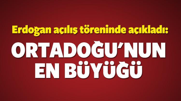 Erdoğan Erzurum'da konuştu