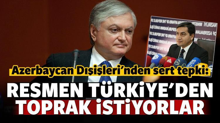 Azerbaycan: Türkiye'den resmen toprak istiyorlar!