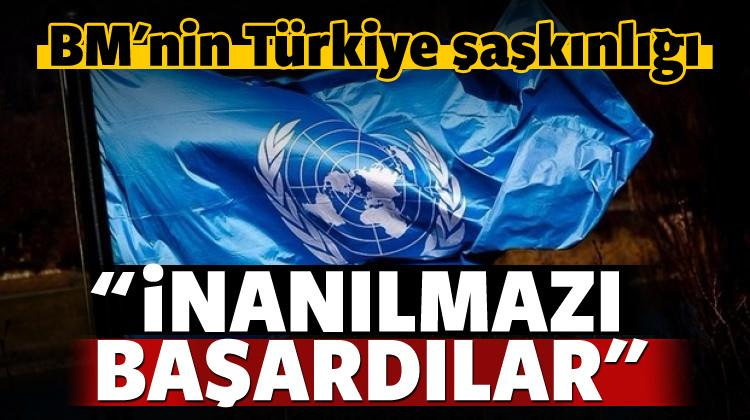 BM: Türkiye 2017'de inanılmazı başardı!
