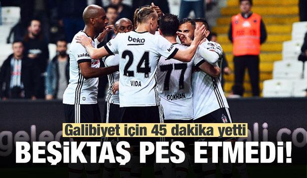 Beşiktaş evinde pes etmedi!