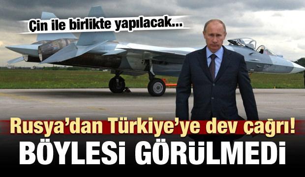 Rusya'dan Türkiye'ye dev davet! Böylesi görülmedi