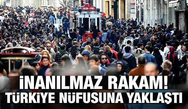Bakan açıkladı! Sayıları Türkiye nüfusuna yaklaştı