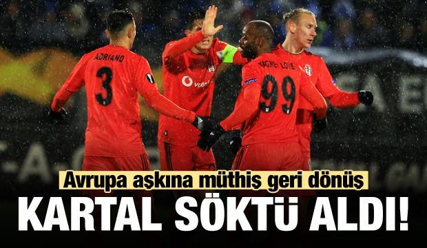 Beşiktaş'tan Norveç'te müthiş geri dönüş!