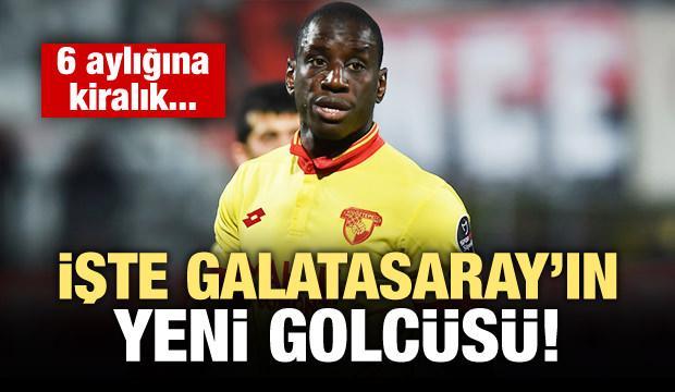 İşte Galatasaray'ın yeni golcüsü!