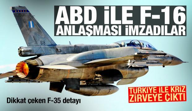 Türkiye ile kriz! ABD ile F-16 anlaşması imzalandı, dikkat çeken F-35 detayı
