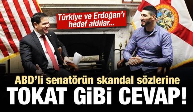 ABD'li senatöre Türkiye'den tokat gibi cevap!