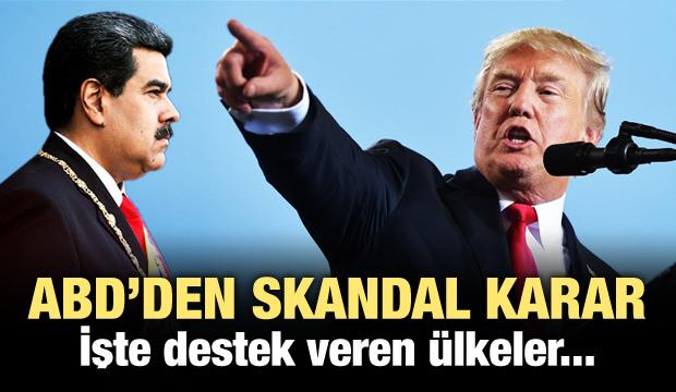 ABD skandal kararı resmen açıkladı!