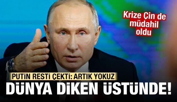 Dünya diken üstünde! Putin resti çekti: Artık yokuz