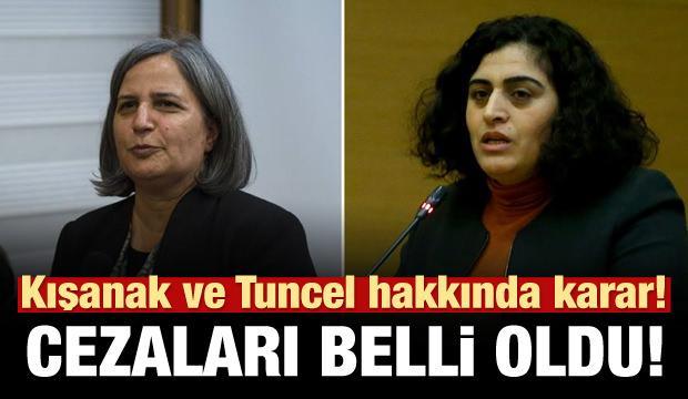 Mahkemeden Gültan Kışanak ve Sebahat Tuncel kararı!
