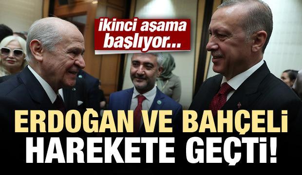 Erdoğan ve Bahçeli harekete geçti!