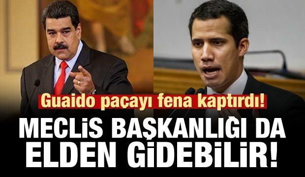 Venezuela'da Guaido gelişmesi! Görevden men edilebilir!