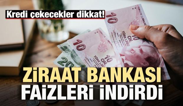 Kredi çekecekler dikkat! Dev banka faizleri indirdi