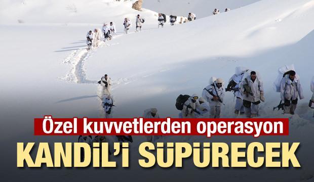 Özel Kuvvetlerden Kandil'e operasyon