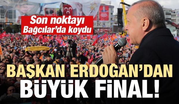 Başkan Erdoğan'dan büyük final!