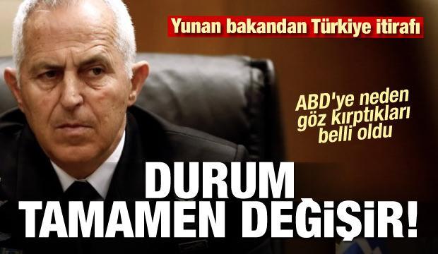 ABD'ye neden göz kırptıkları belli oldu! Yunan bakandan Türkiye itirafı!