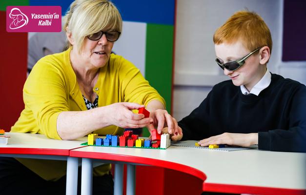 Görme engelli çocukların özellikleri neler? Ailelere altın tavsiyeler