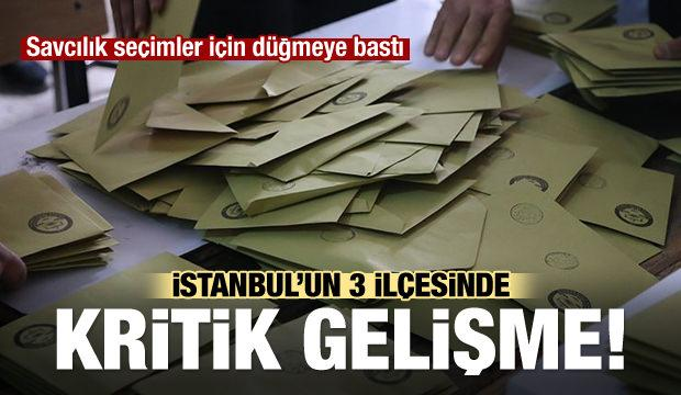 İstanbul'un üç ilçesinde çok önemli gelişme