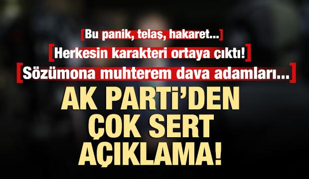 AK Parti'den seçimin iptali ile ilgili CHP ve Gül'e çok sert yanıt