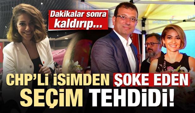 CHP'li isimden akıllara zarar 'seçim' tehdidi!