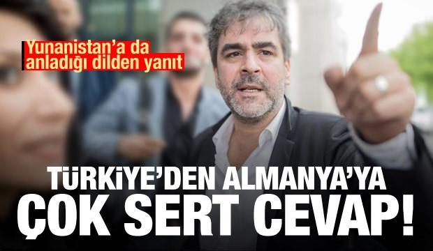 Türkiye'den Yunanistan'a Ege Denizi, Almanya'ya işkence tepkisi