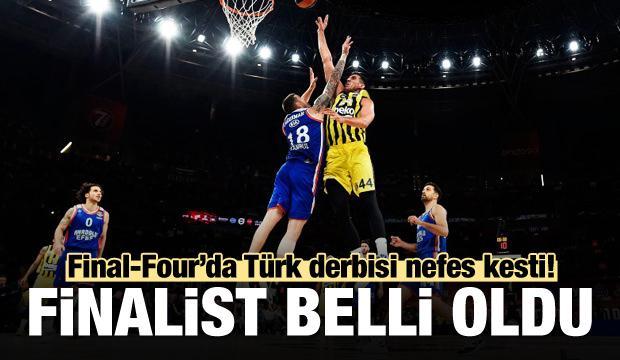 Anadolu Efes, Fenerbahçe'yi eledi ve finalde!