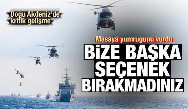 KKTC'den Doğu Akdeniz açıklaması: Bize başka seçenek bırakmadınız