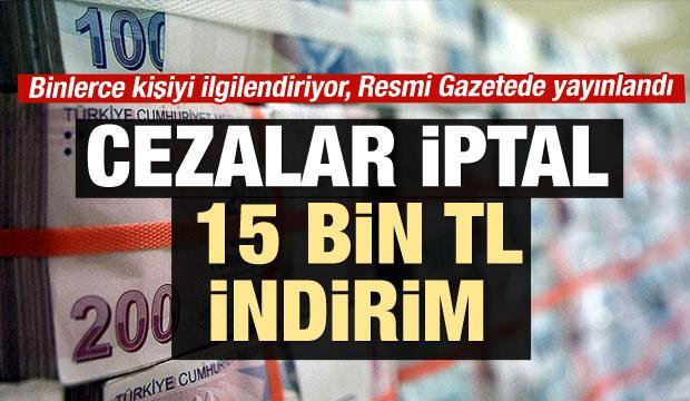 Torba Yasa Resmi Gazete'de!