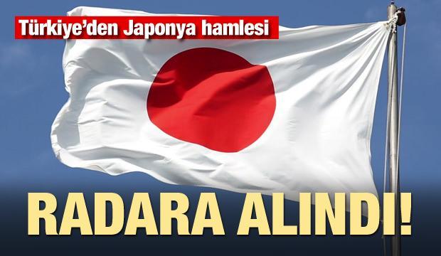 Türkiye'den Japonya hamlesi! Radara alındı