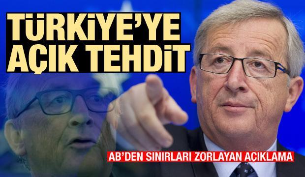 AB'den Türkiye'ye açık tehdit