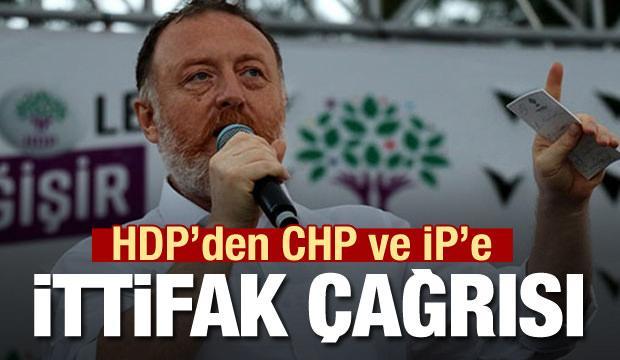 HDP'den CHP ve İP'e çağrı: İttifakımız sürsün